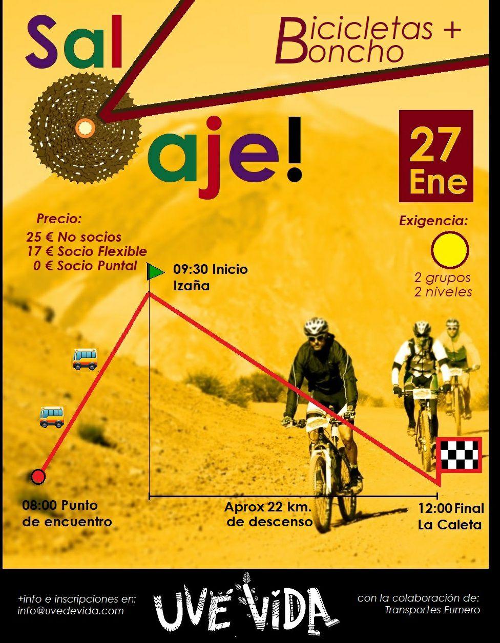SalVaje Bicicletas + Boncho