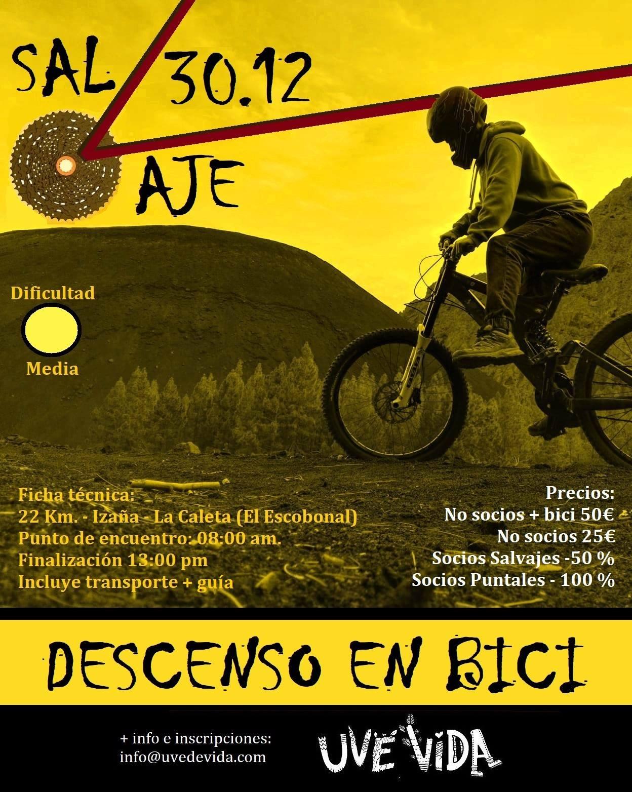 SalVaje Descenso en Bicicleta