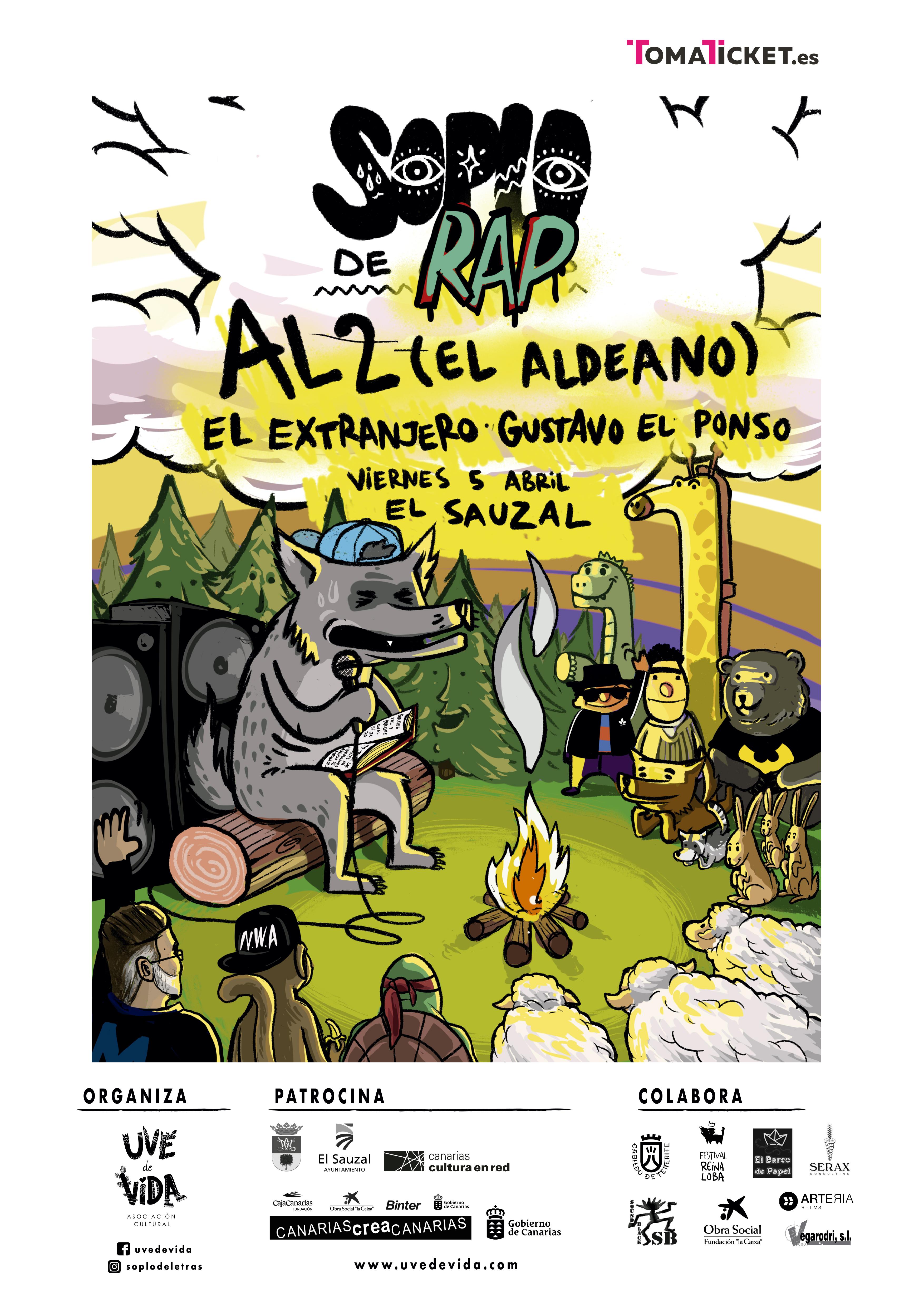 Soplo de Rap - AL2 El Aldeano
