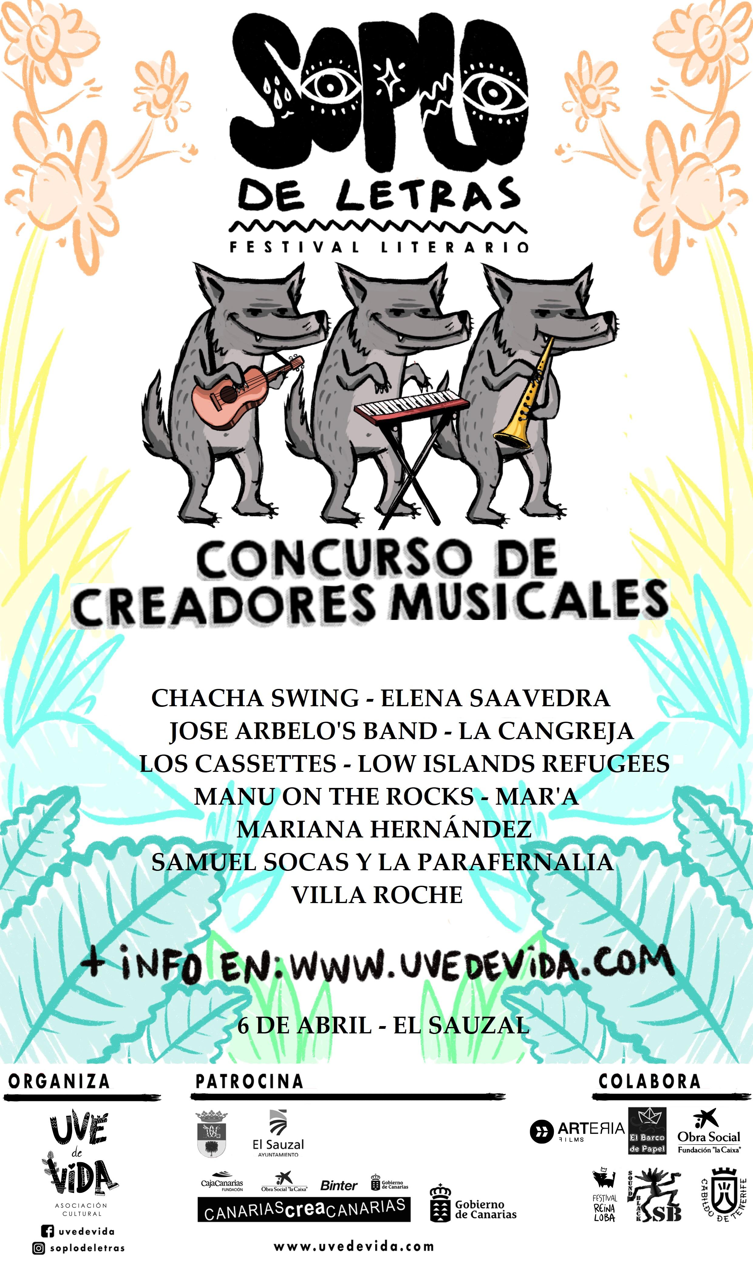 Creadores Musicales - Soplo de Letras 2019