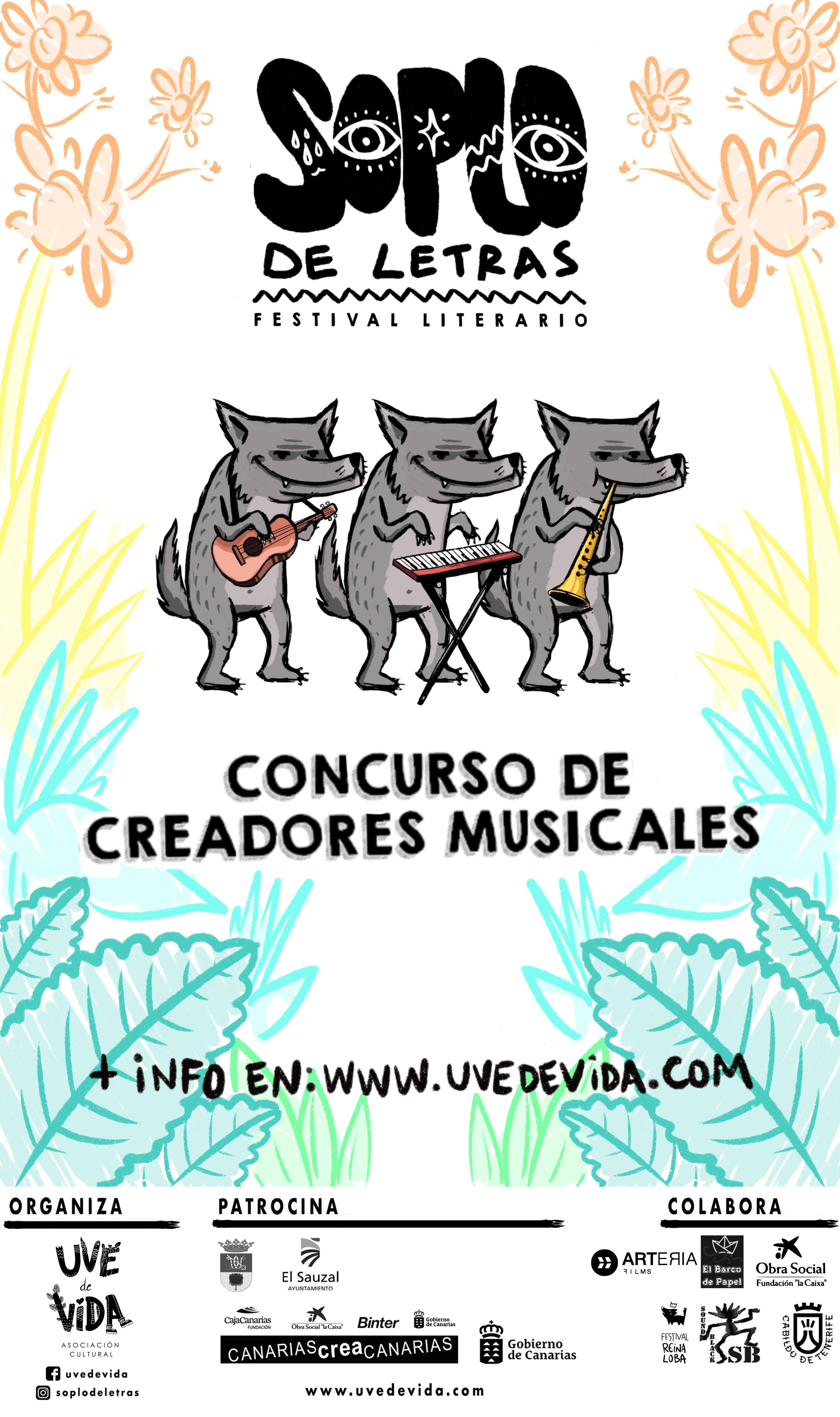 Concurso de Creadores Musicales - Soplo de Letras 2019