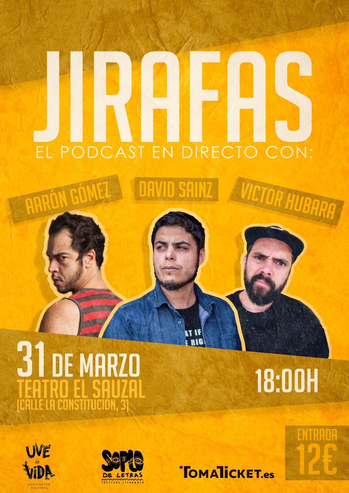 Podcast Jirafas - Soplo de Letras 2019