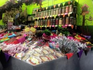 Puesto de Especias (2) - Mercado de La Laguna, Pl. del Cristo - Arwenchitart